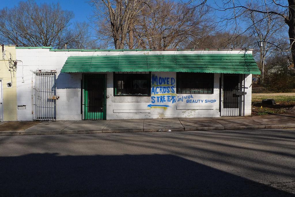 Vernon Winfrey's Barber Shop | Nashville, Tennessee The ...