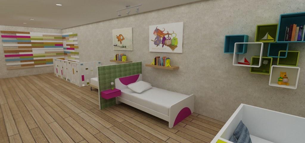 Mobiliario Infantil Dise O Cubo 3 Dise O De Tienda