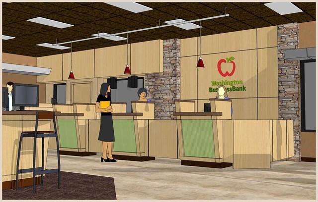 bank interior 3d design interior bank teller counter. Black Bedroom Furniture Sets. Home Design Ideas