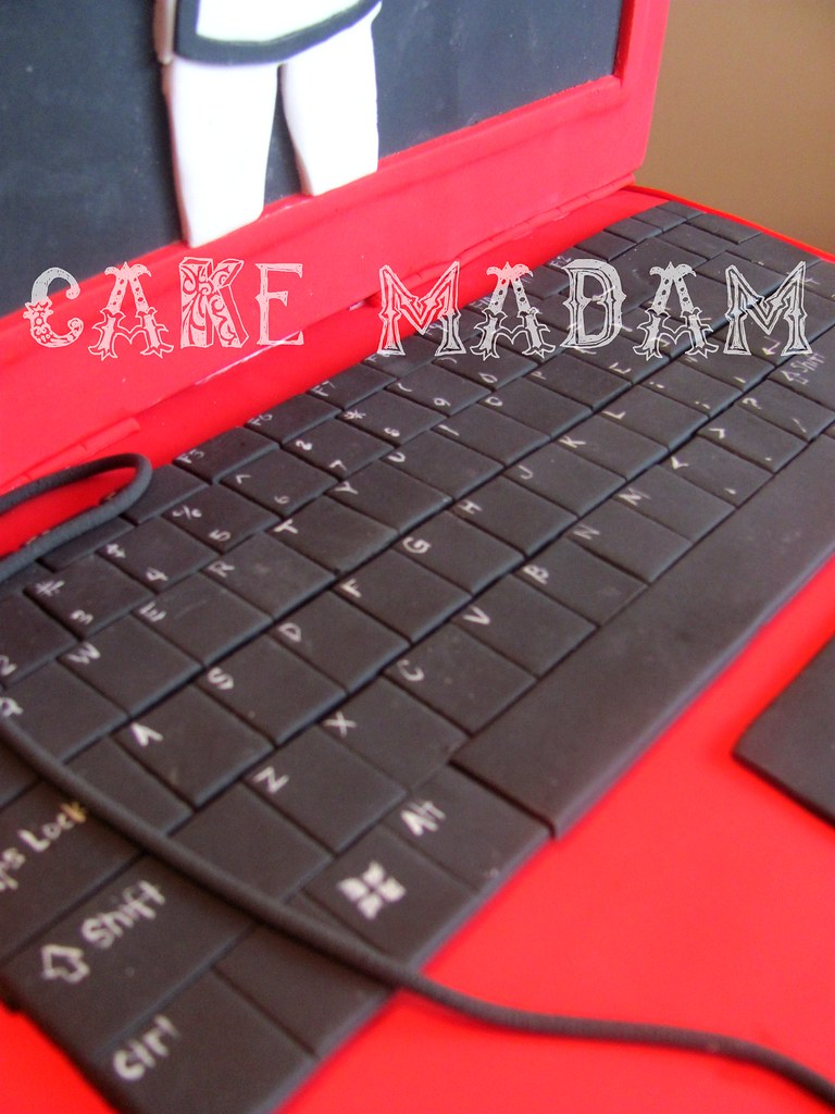 Cake Laptop Designs : The Laptop cake Mary Katherine Flickr