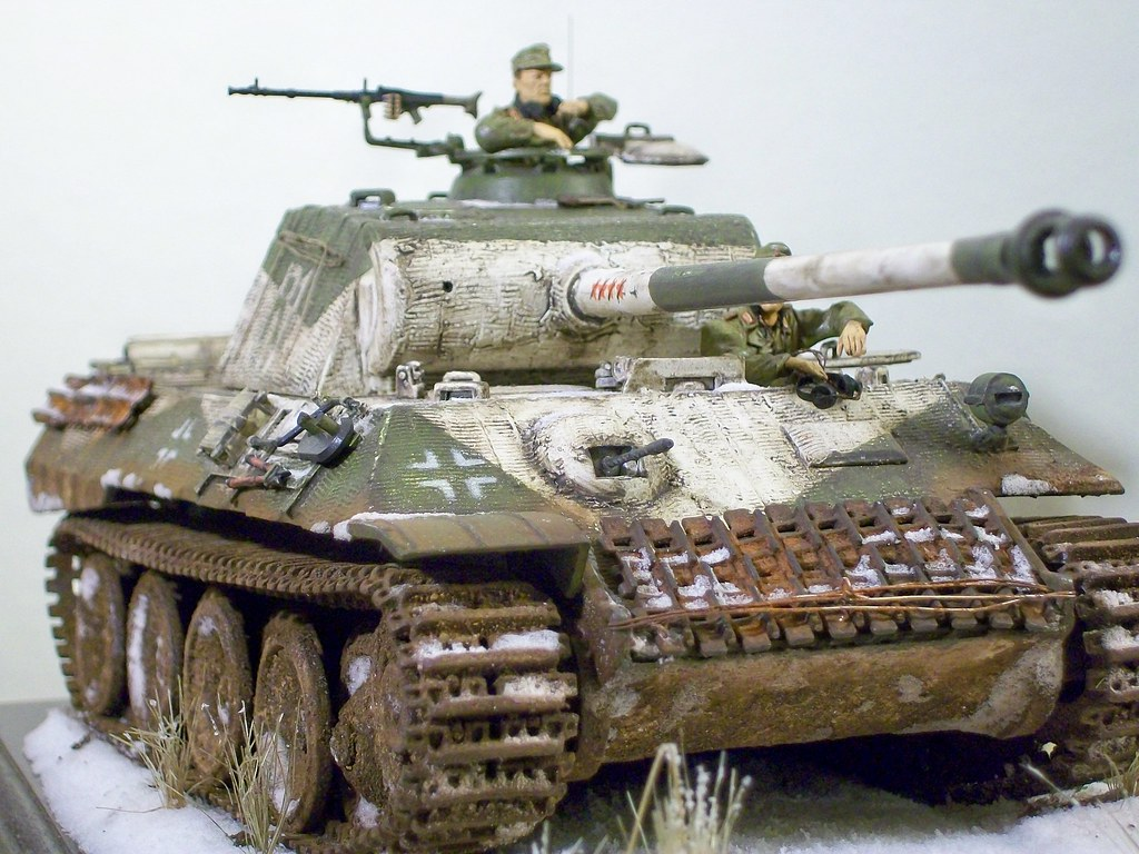 1 35 Built Tank Panther I Built This Tank To Sell Check