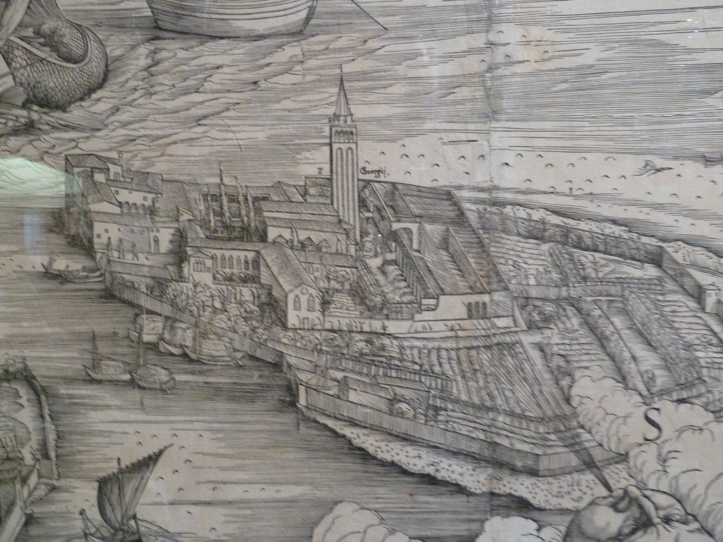 Map Of Venice From Detail Island San Giorgio Maggior Flickr - Map of venice 1500