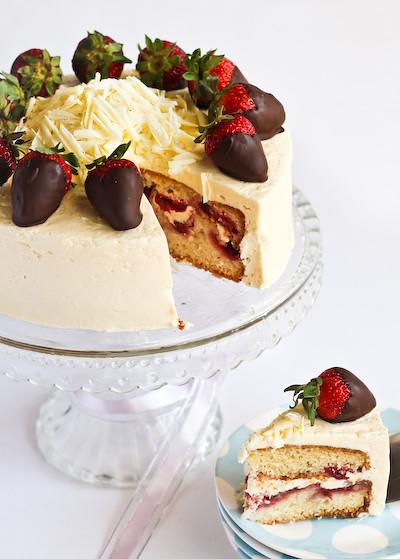 Pink Strawberry Cake Smitten Kitchen Blog