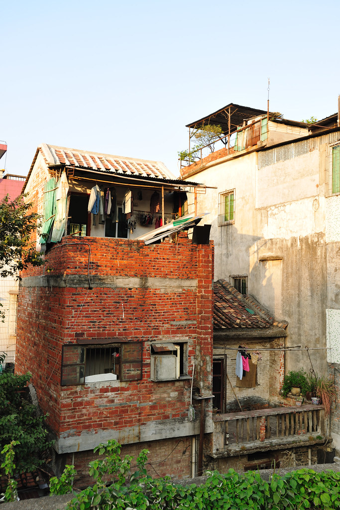 The old houses in zhaoqing song wall llee wu flickr for Old house songs