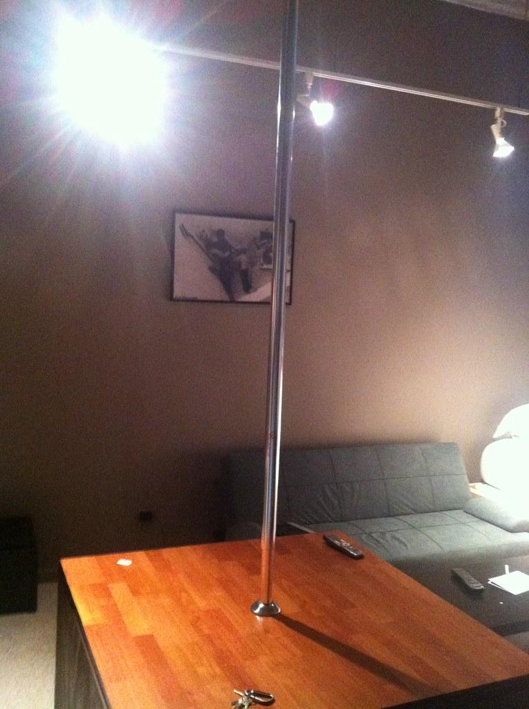 . Stripper Pole in the Bedroom for Xmas   Classy   M K   Flickr