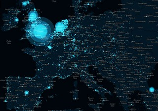 Visualization: Europe (Archive) | by @Twitter