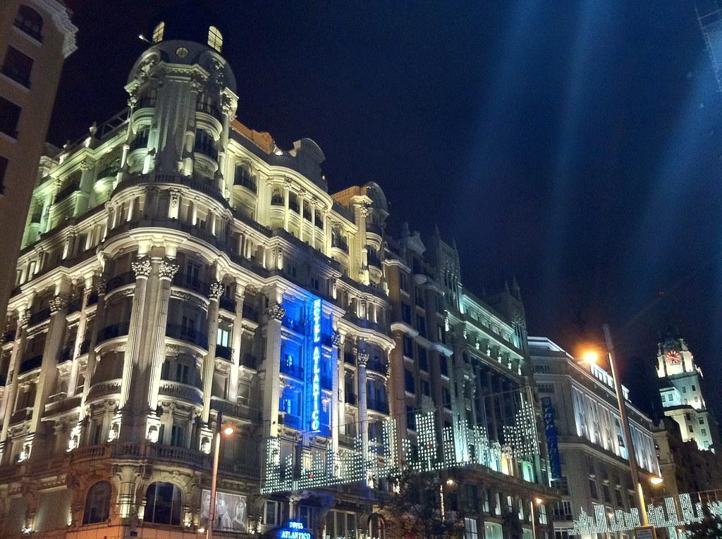 Hotel Atlantico Madrid Airport Shuttle