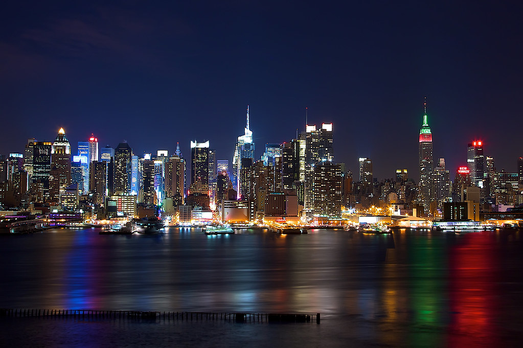 New York Skyline From New Jersey Canon 7d Ef 24 105 L F8
