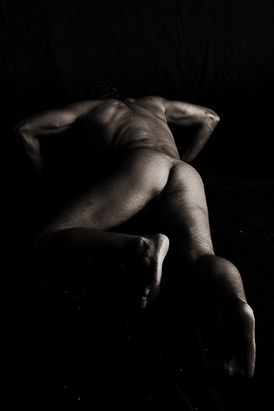 Nude Male Art Model 65