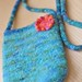 a new felted purse