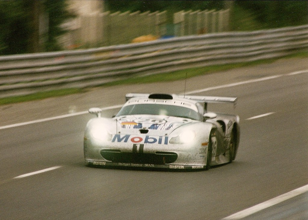 porsche 911 gt1 le mans 1997 the 26 works porsche on the flickr. Black Bedroom Furniture Sets. Home Design Ideas