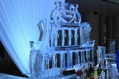 Ice Sculpture Martini Bar