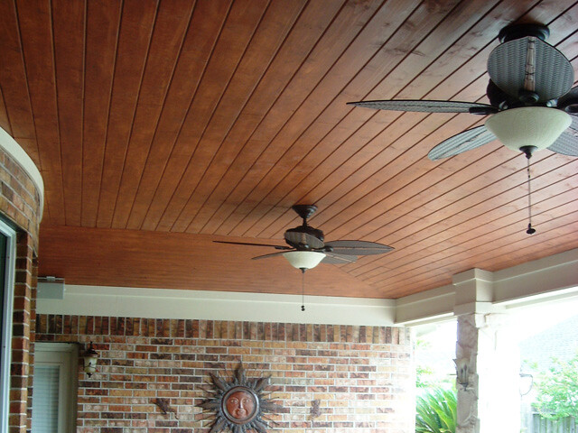 Vaulted Pine Tongue And Groove Ceiling Under Patio Cover Iu2026 | Flickr