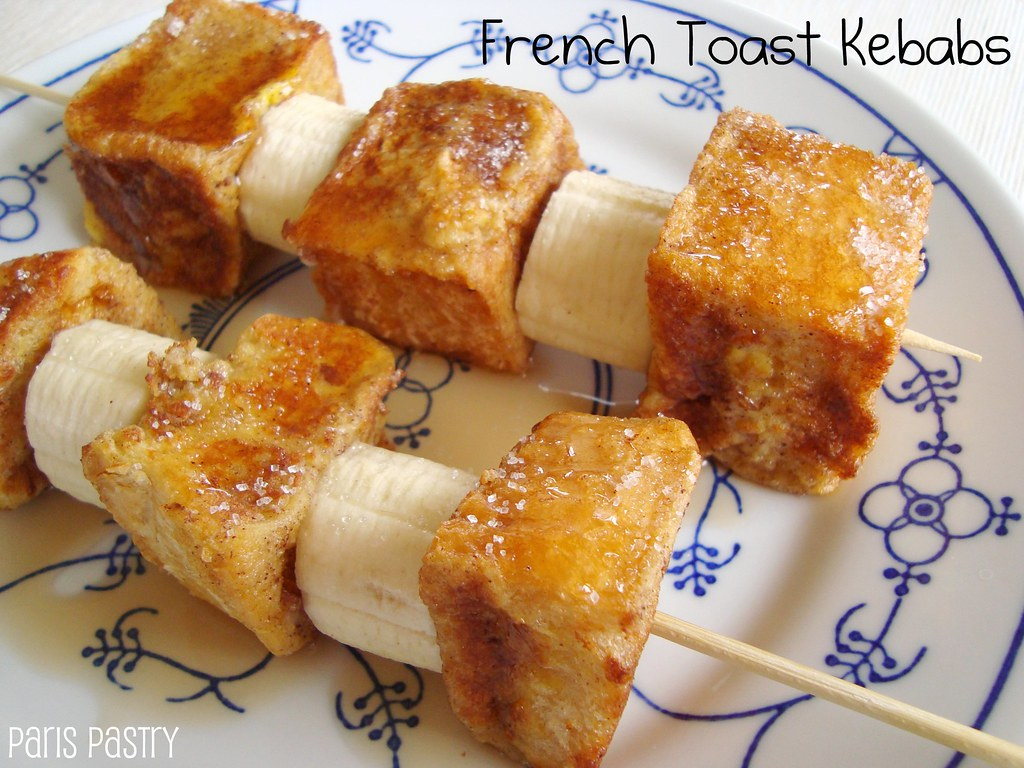 French Toast Kebabs | Idea from Martha Stewart. Recipe on my ...