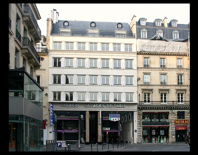 garage palacio de la madeleine 1932 paris viii flickr photo sharing. Black Bedroom Furniture Sets. Home Design Ideas