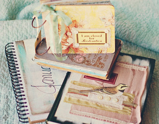 January Art Journals {action} | by Alisa Noble