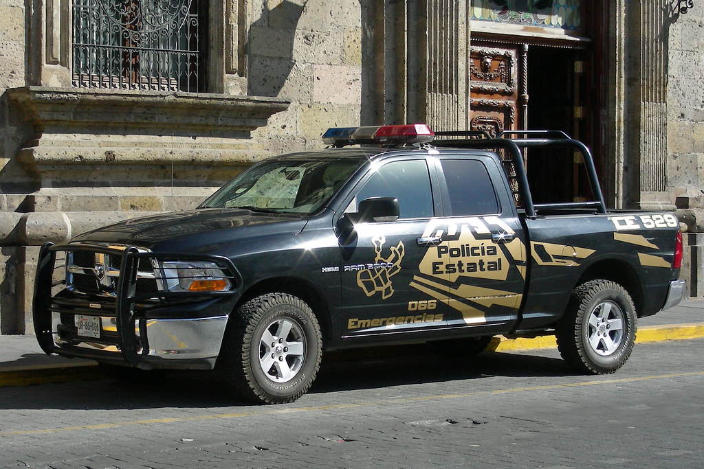 Polic 237 A Estatal Dodge Ram Truck Of The Jalisco State
