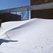 Back door snow drift