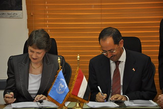 Signing ceremony | by UNDP Yemen