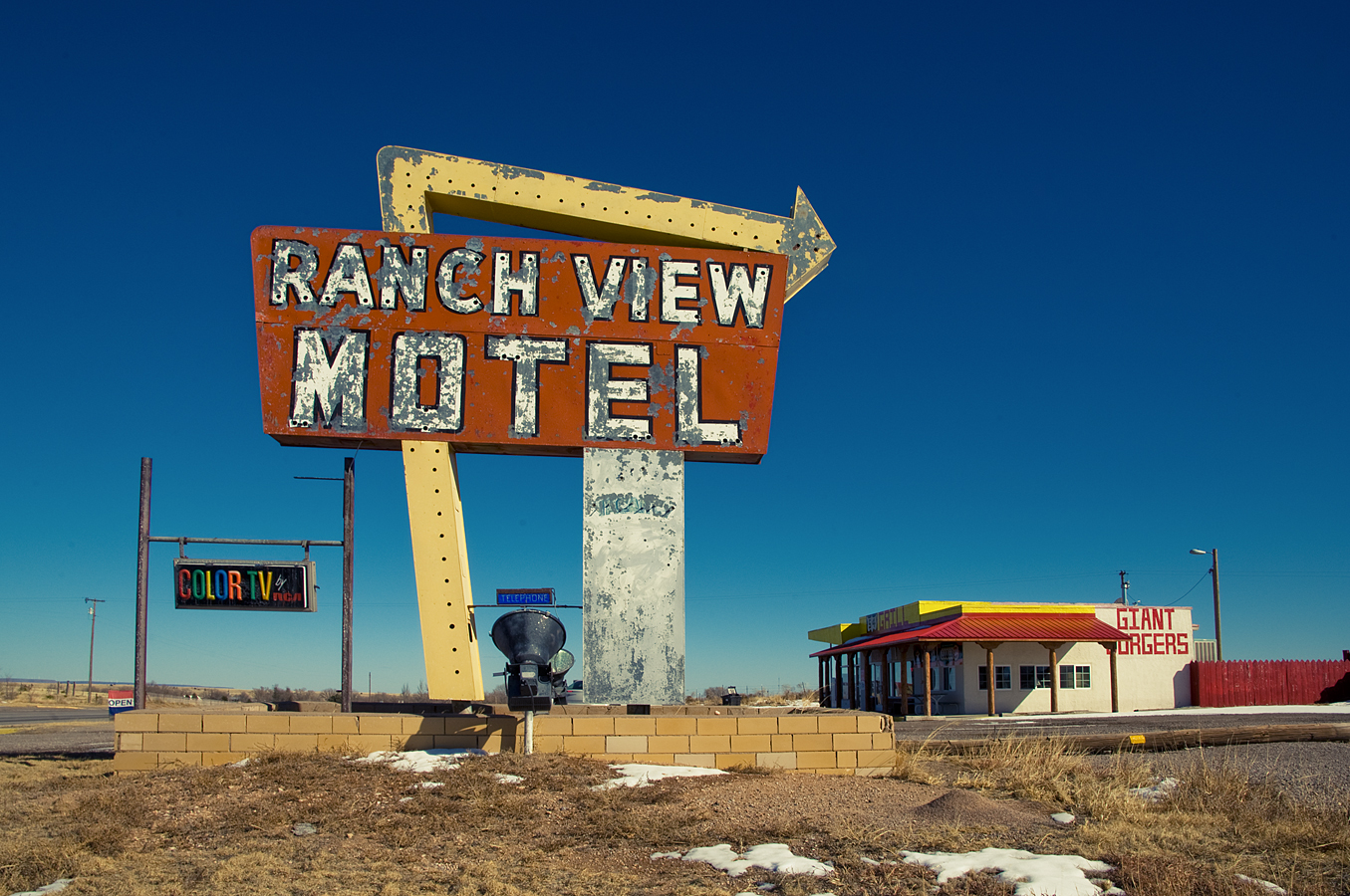 Ranch View Motel - Vaughn, New Mexico U.S.A. - February 14, 2011