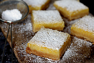 perfect lemon bars | by David Lebovitz