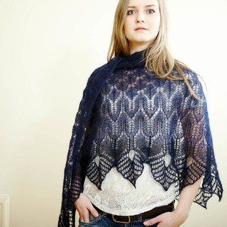 Winter Thaw shawl | by Hedgehog Fibres