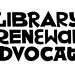 "Library Renewal ""Advocates"" T-shirt Front Artwork"