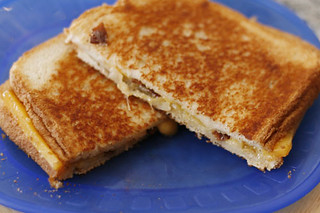 Grilled Cheese with Bacon | by Sarah :: Sarah's Cucina Bella