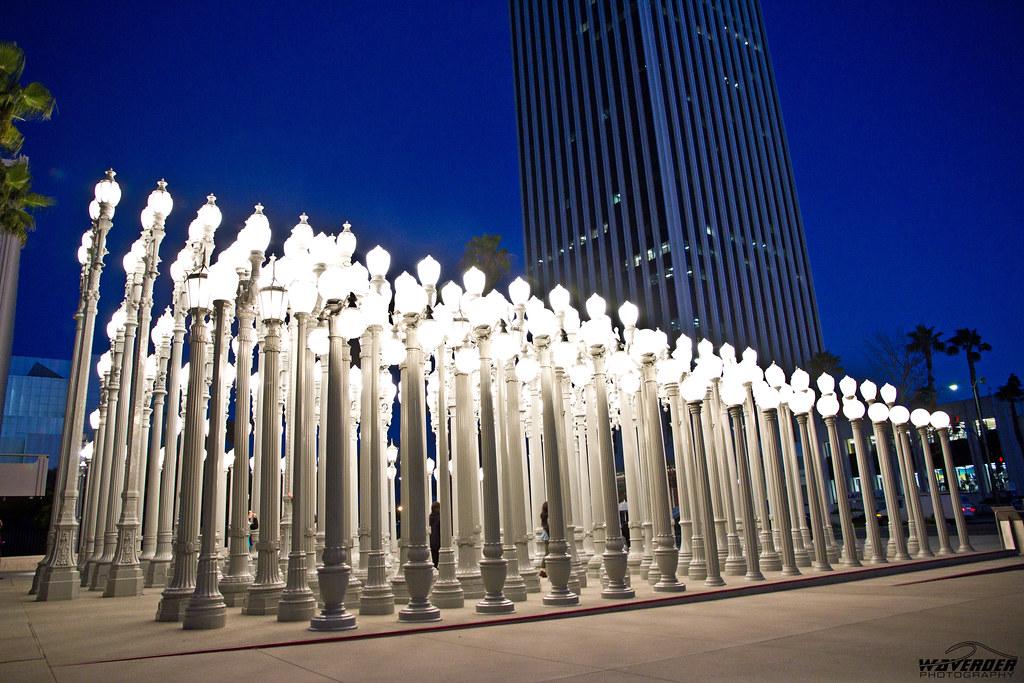Light poles | Los Angeles County Museum of Art ...