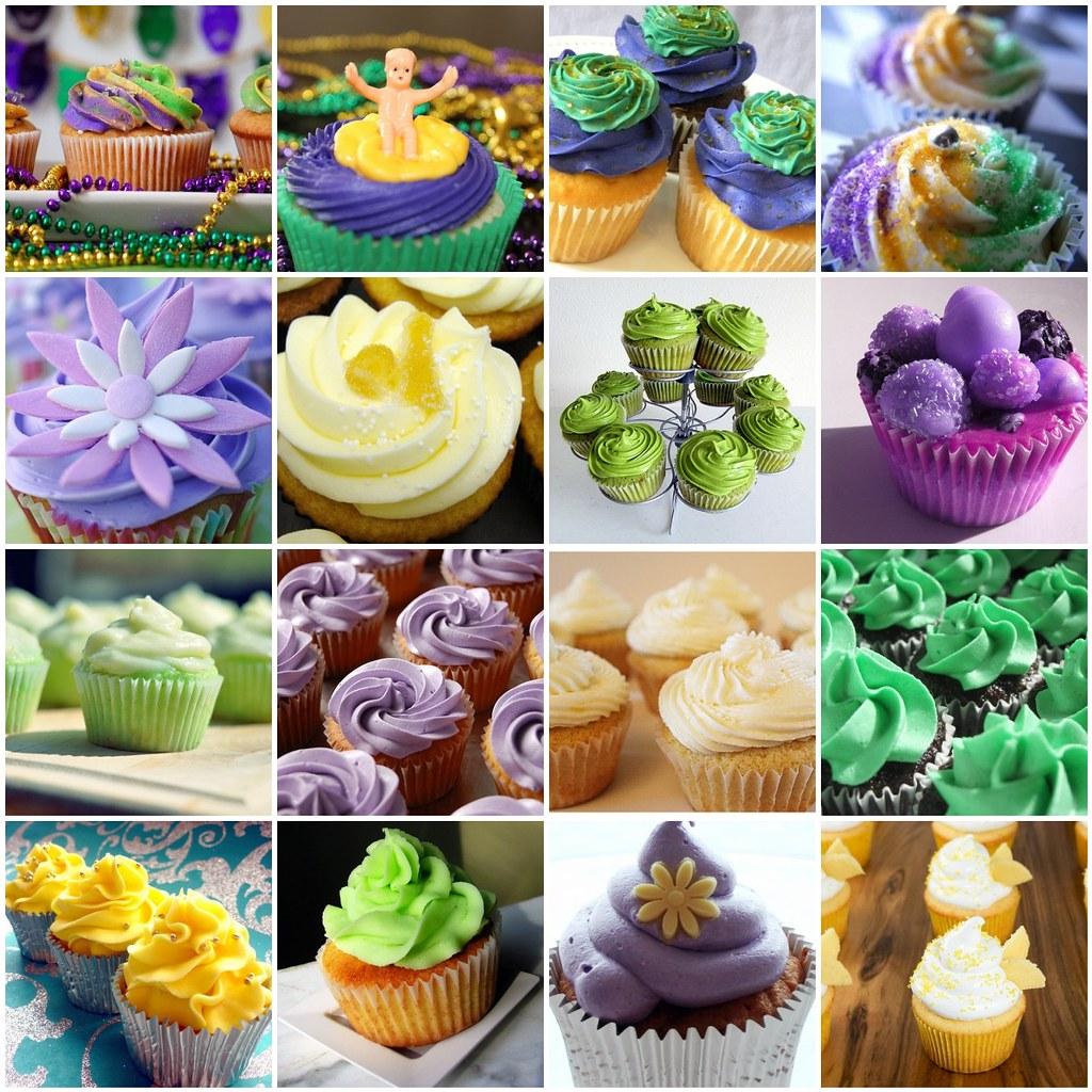 Vegan King Cake Cupcakes