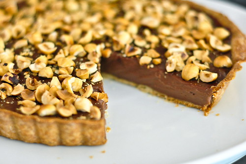 chocolate hazelnut tart chocolate hazelnut praline chocolate hazelnut ...