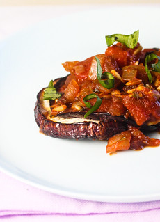 Baked Eggplant with Tomato Chutney 2 (1 of 1) | by bell.ab
