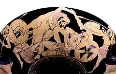 3. Héraklès assommant une Amazone