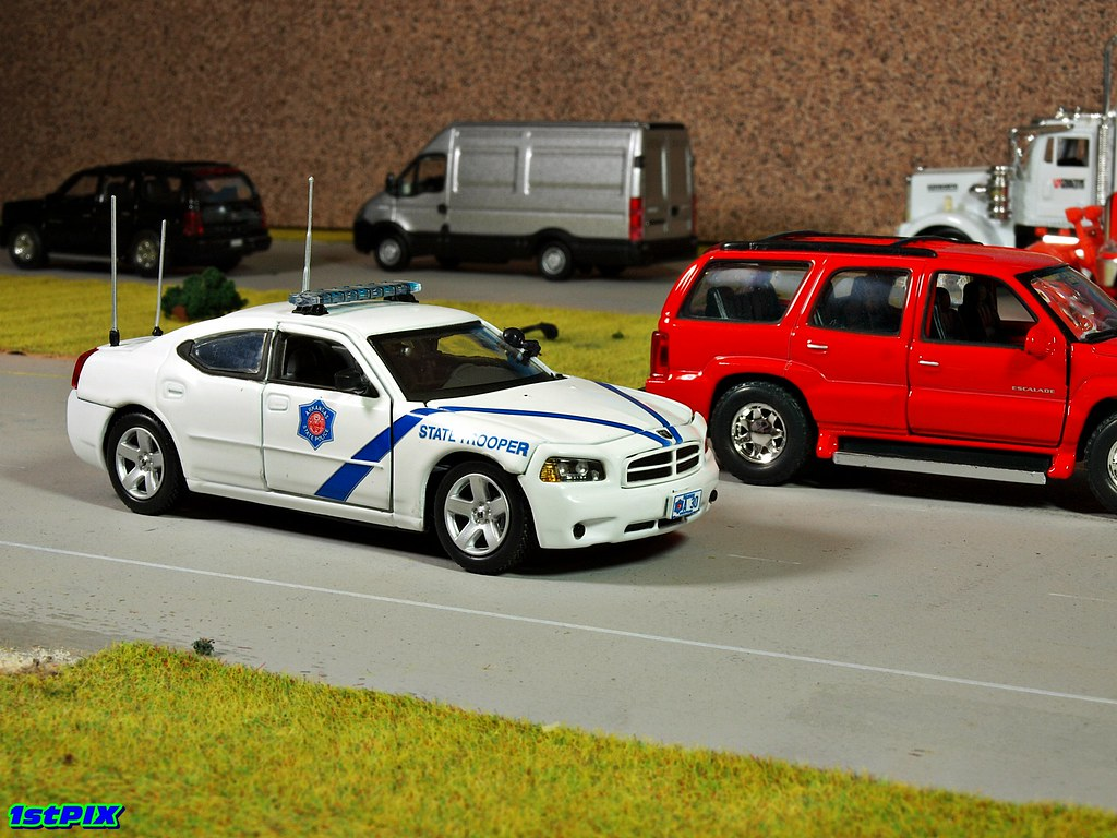 New Dodge Charger >> Arkansas State Police Diecast Diorama | Arkansas State Polic… | Flickr