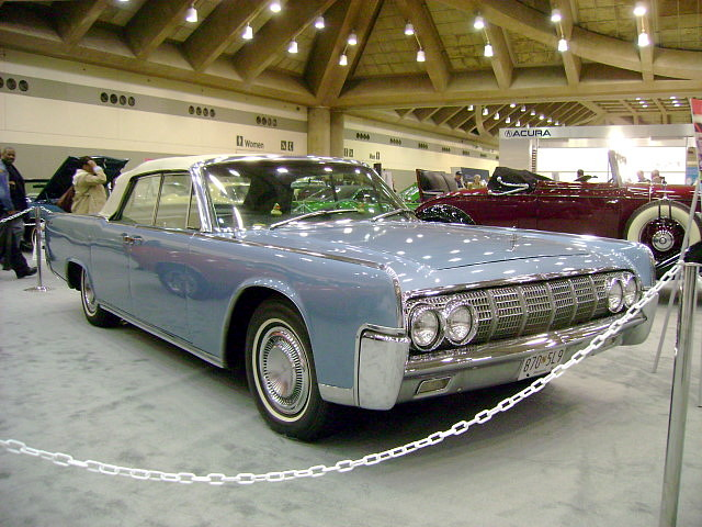 1964 lincoln continental convertible antique automobile cl flickr. Black Bedroom Furniture Sets. Home Design Ideas