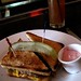Bell, Book and Candle: Brunch, Patty Melt with Pimms Cup