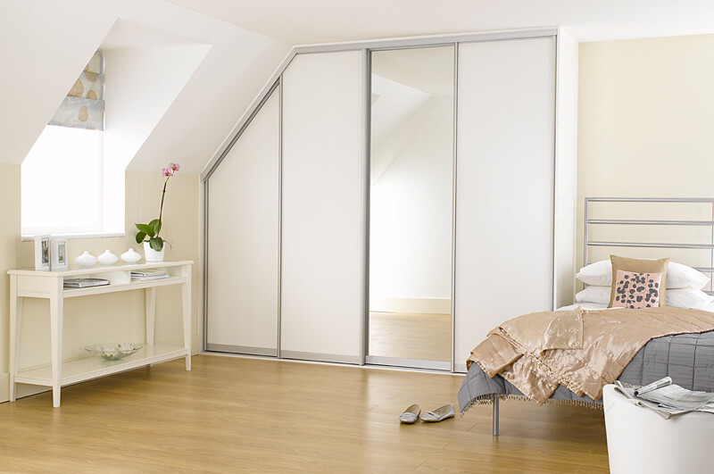 Sliderobes Fitted Sliding Wardrobe White Ash If You Are