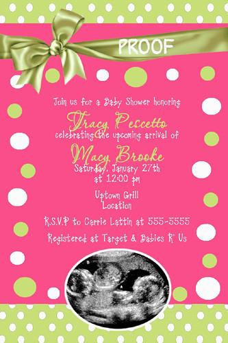 hot pink lime green baby shower invitation zebra hot pink