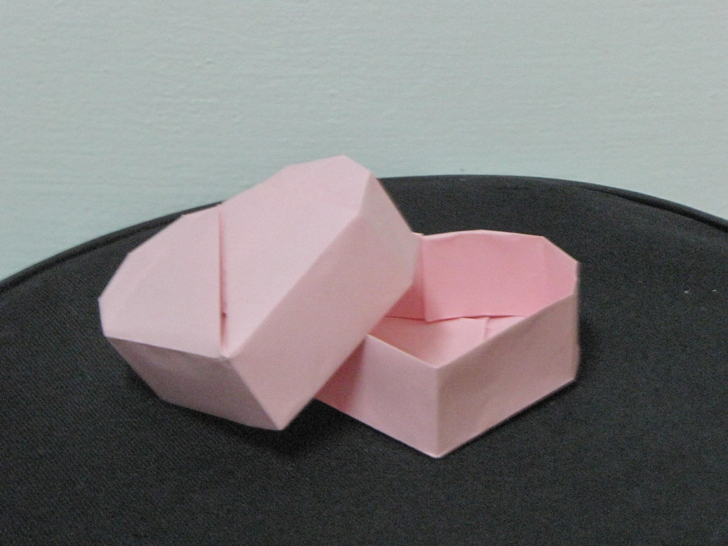 origami heart box | origami heart box design Robin Glynn ... - photo#15