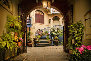 Courtyard Gateway | by andy castro