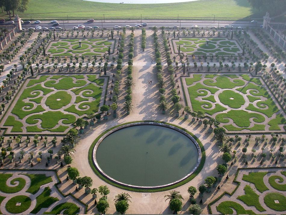 Jardin de l 39 orangerie versailles castle kite aerial for Du jardin a l assiette mauves