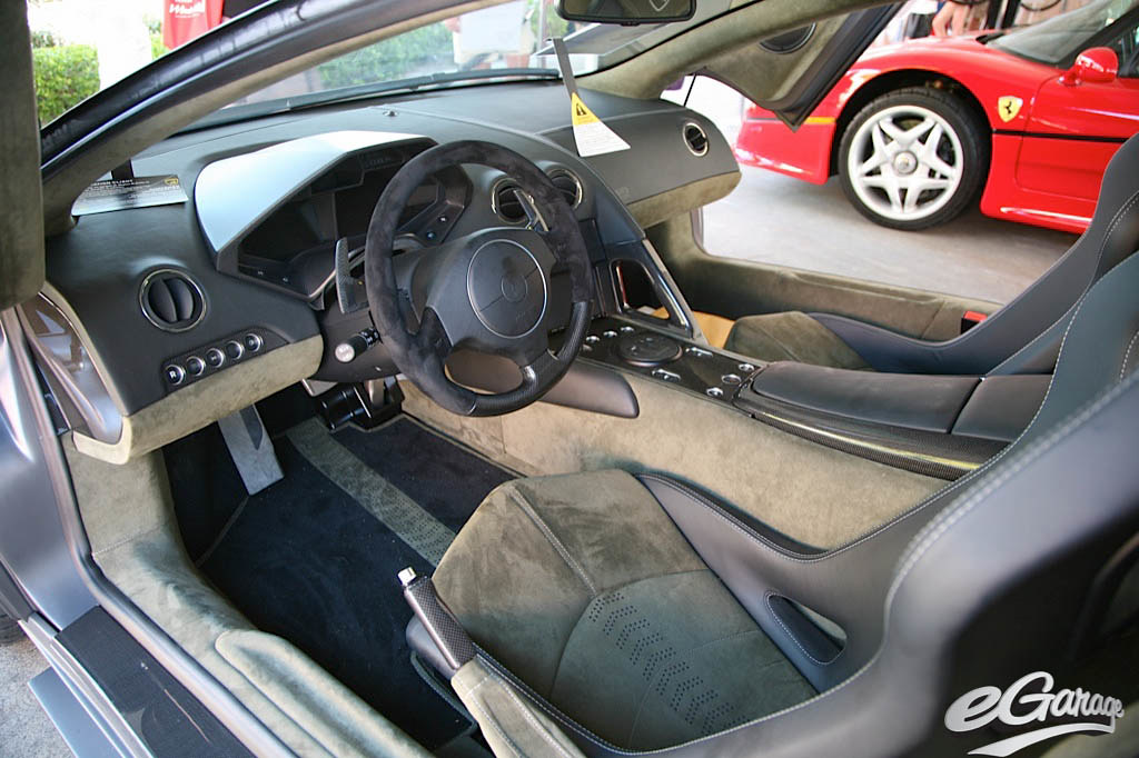 lamborghini reventon interior - photo #13