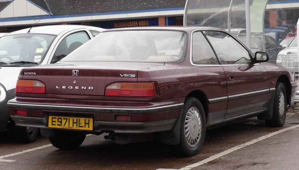 1988 Honda Legend 2 7i V6 Automatic Coupe I Think This