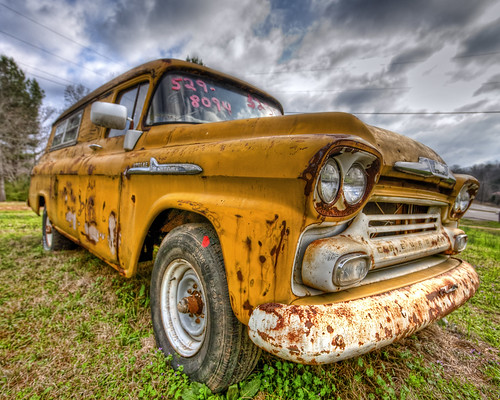 Chevrolet 38 Apache HDR | by hz536n/George Thomas