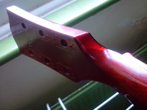 Nitrocellulose Finish Repair Through a Finish Repair on