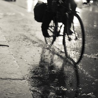 Japan Charity Print Auction: Rainy Day, Bike | by StefanRos