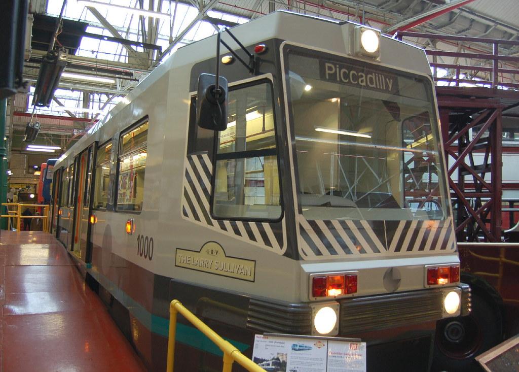 Manchester Metrolink Tram 1000 - Manchester | Manchester ...