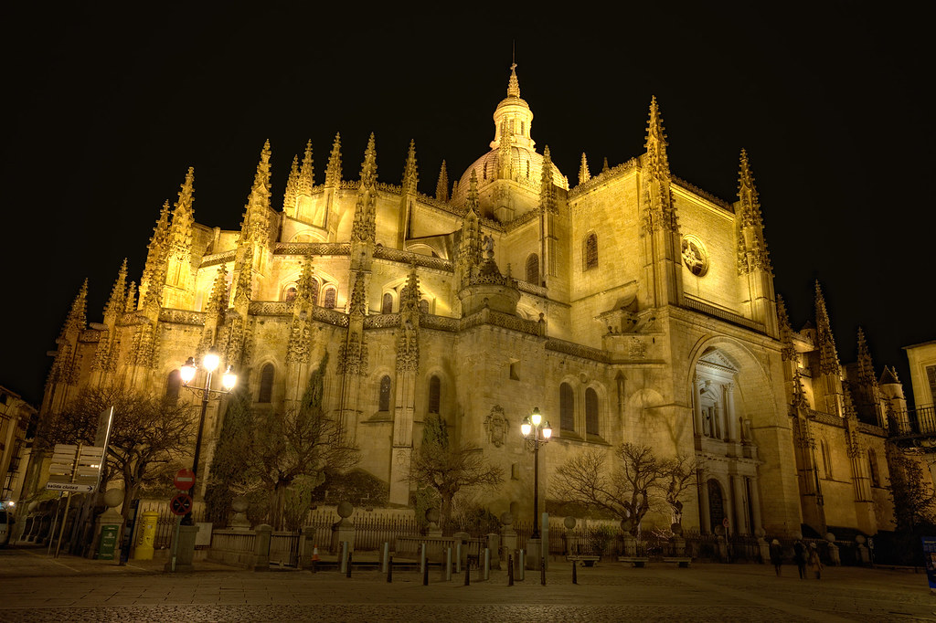 Cathedral – Catedral de Segovia (Spain), HDR  Segovia ...