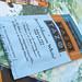 1.28.11 tazo tea recycled bookmark