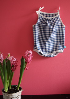 Gingham sun suit | by raechelmyers